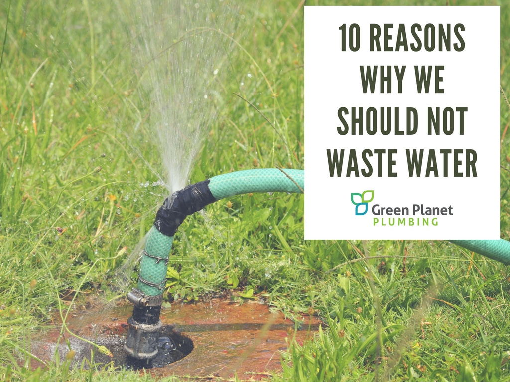 10 Reasons Why We Should Not Waste Water