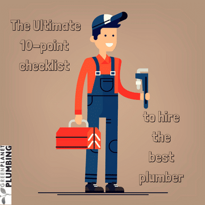 The Ultimate 10-point checklist to hire the best plumber
