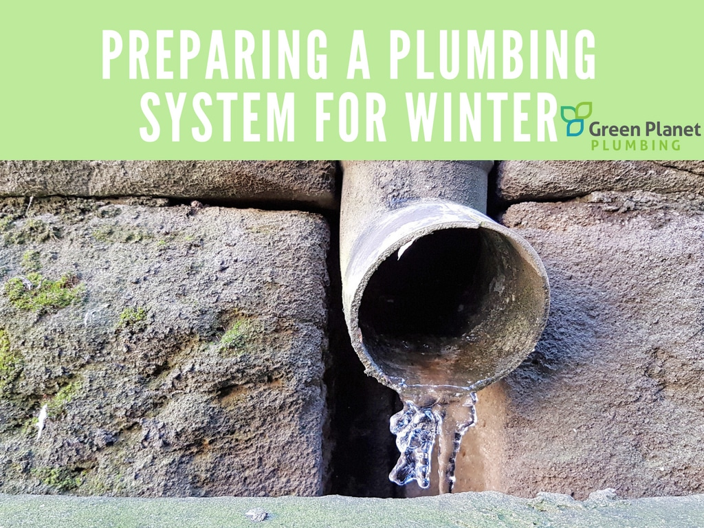 Preparing a Plumbing System for Winter