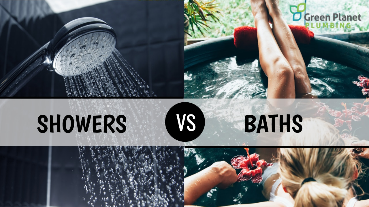 Baths versus Showers - Green Planet Plumbing