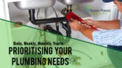 Daily, Weekly, Monthly, Yearly . . . Prioritising Your Plumbing Needs