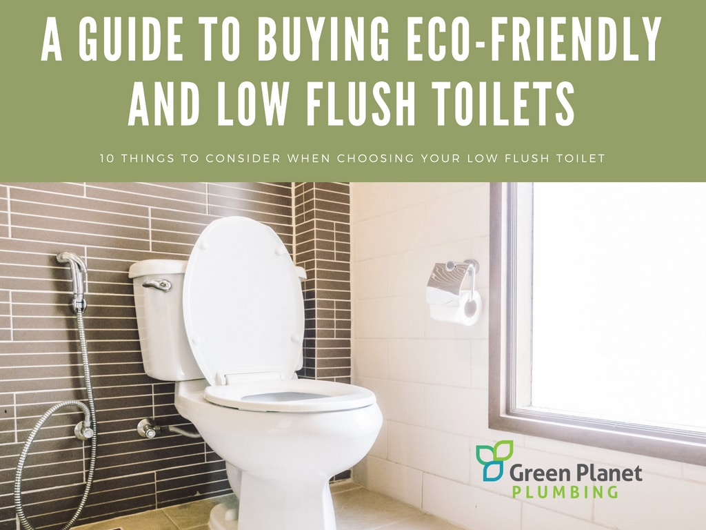 A Guide to Buying Eco-Friendly and Low Flush Toilets