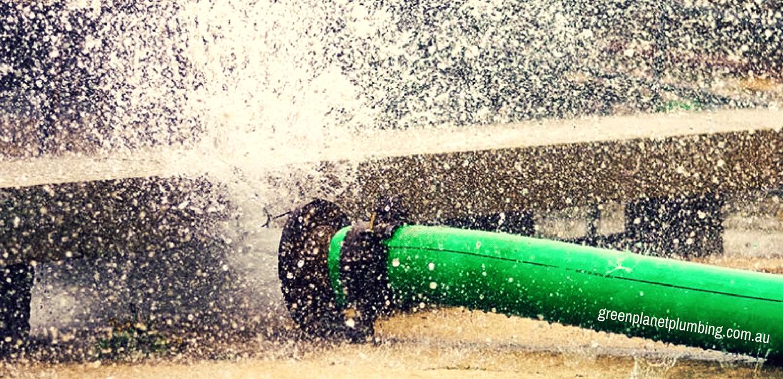Green Plumbing to Reduce Water Consumption