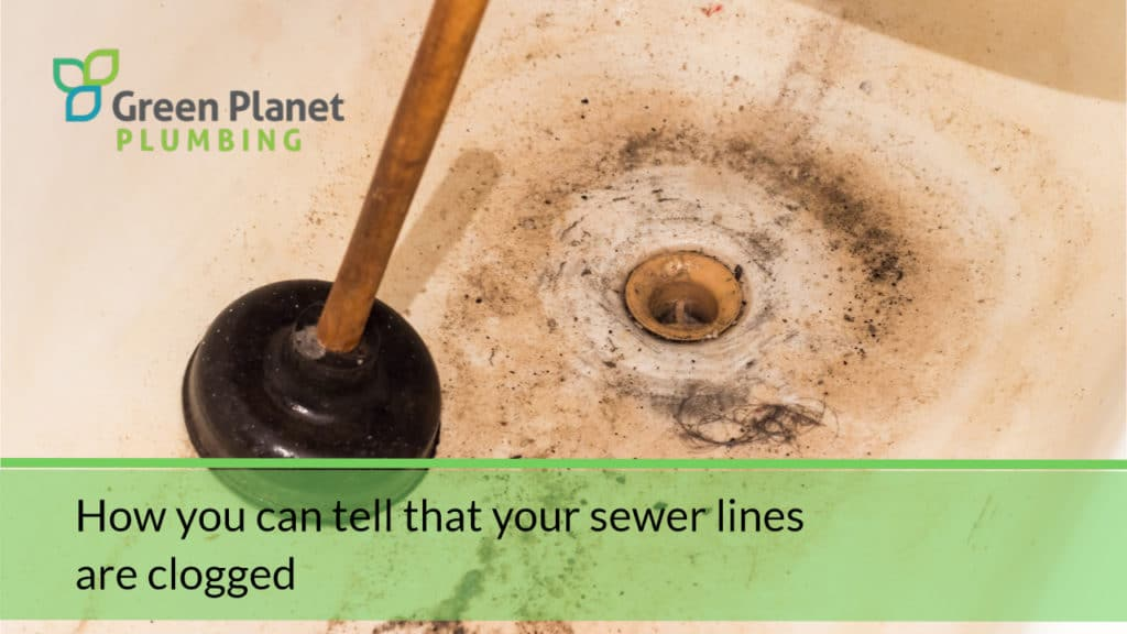 How you can tell that your sewer lines are clogged