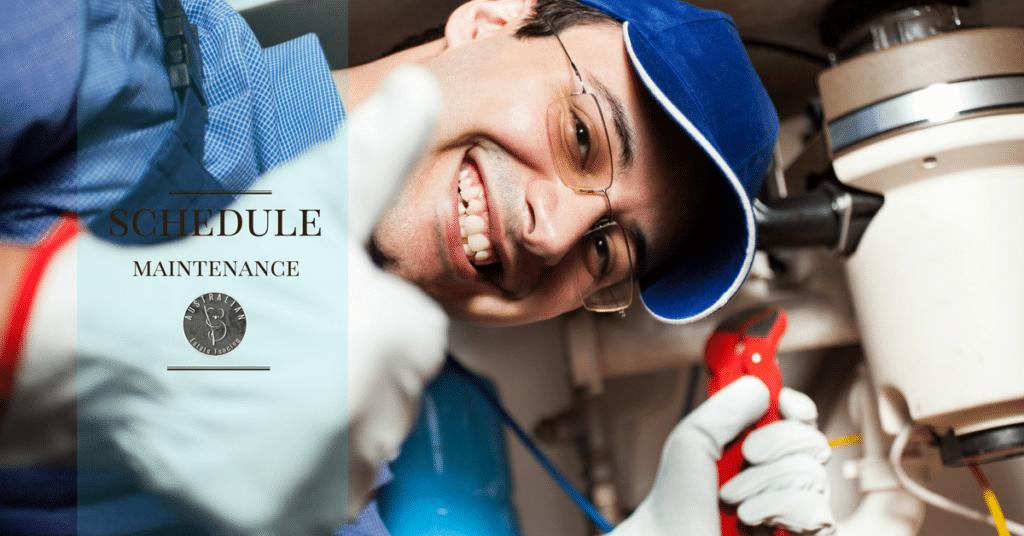 schedule maintenance plumbing