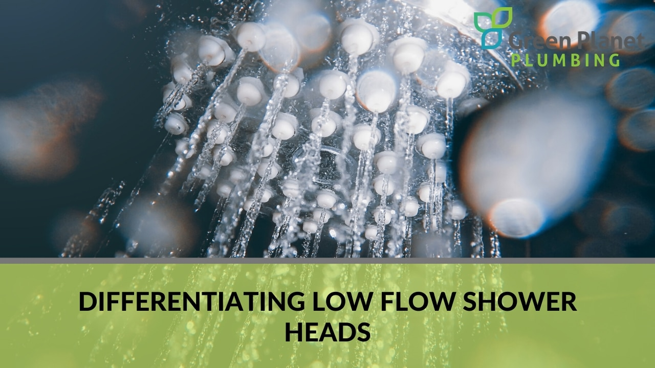 Differentiating Low Flow Shower Heads