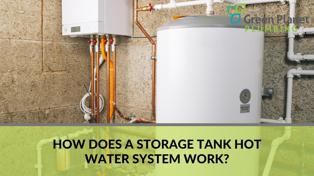 How Does a Storage Tank Hot Water System Work