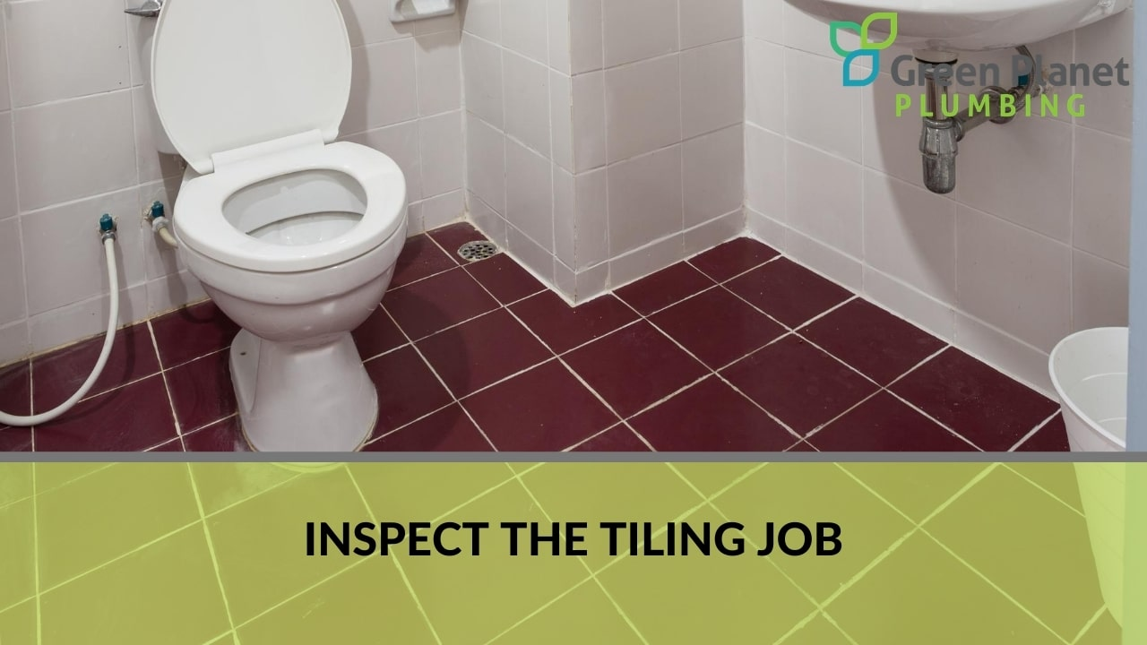 Inspect the Tiling Job