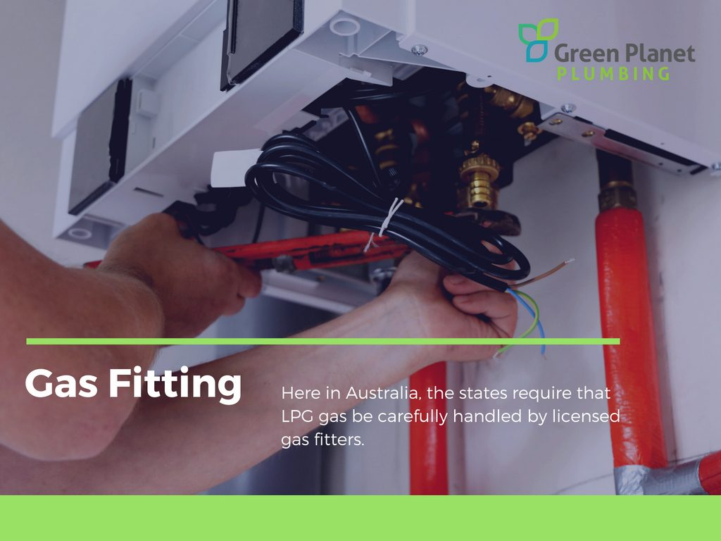 LPG Gas Fitting Green Planet Plumbing