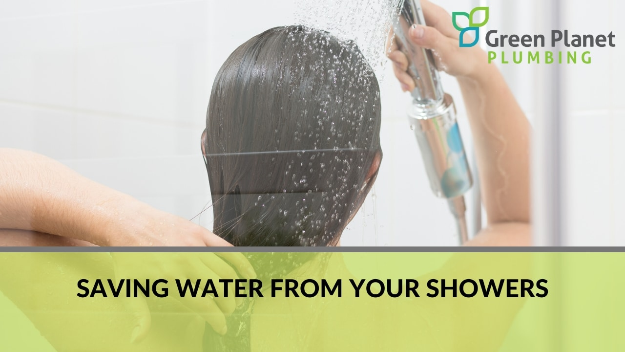 Saving Water from Your Showers