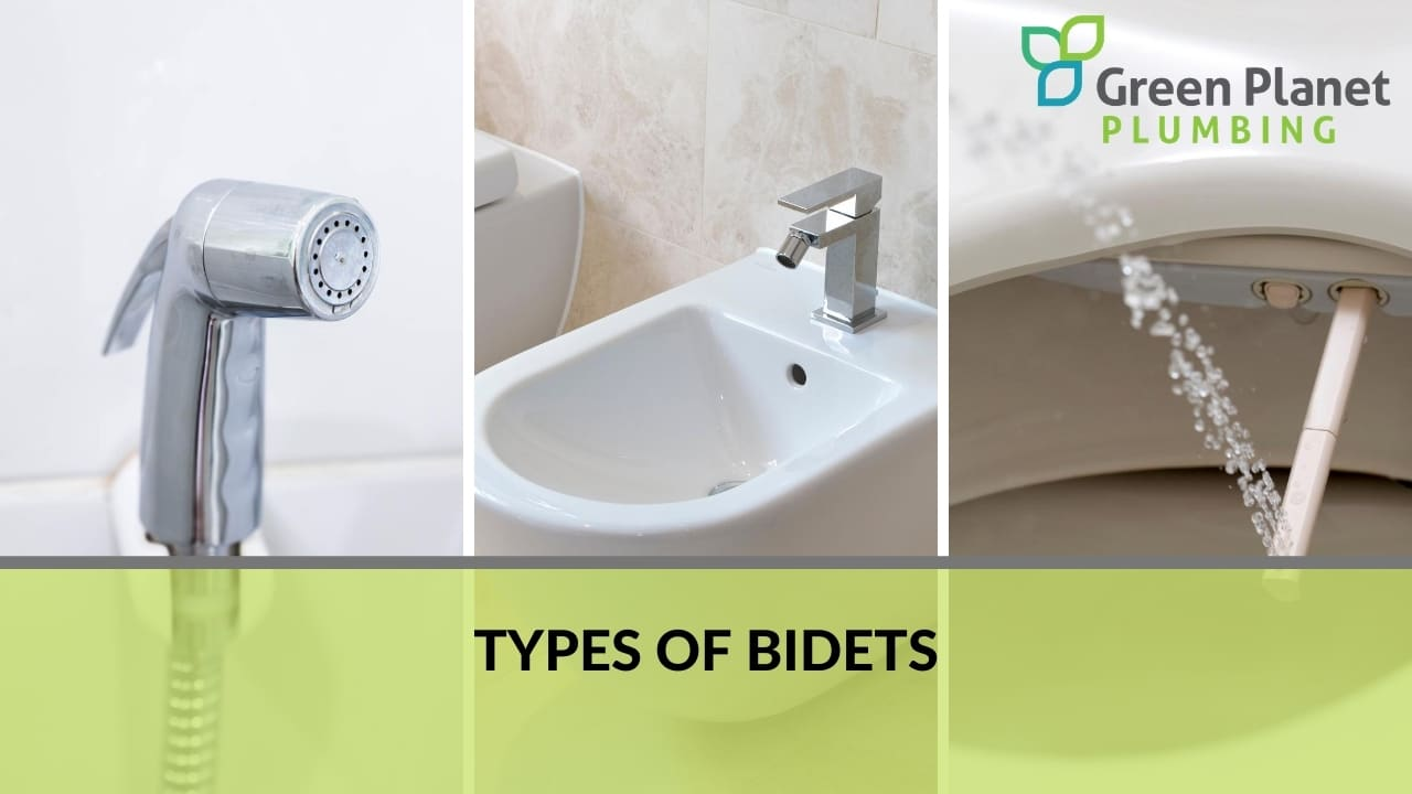 Types of Bidets