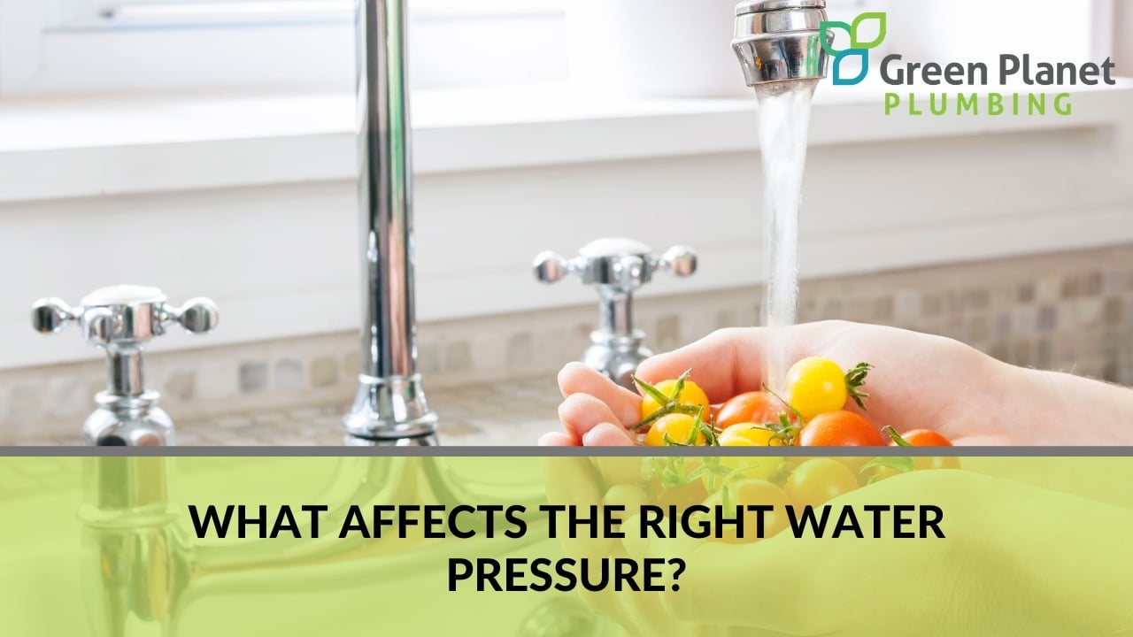 What Affects the Right Water Pressure