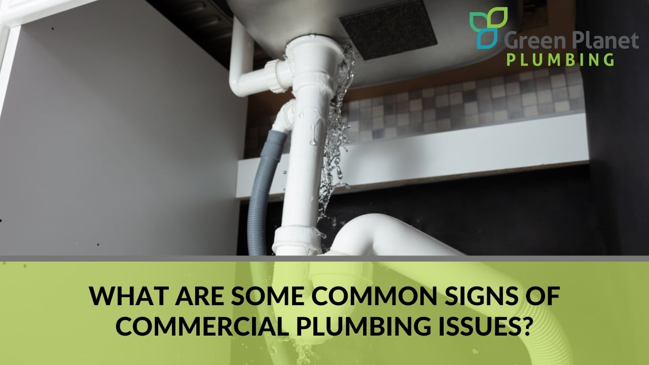 What Are Some Common Signs of Commercial Plumbing Issues