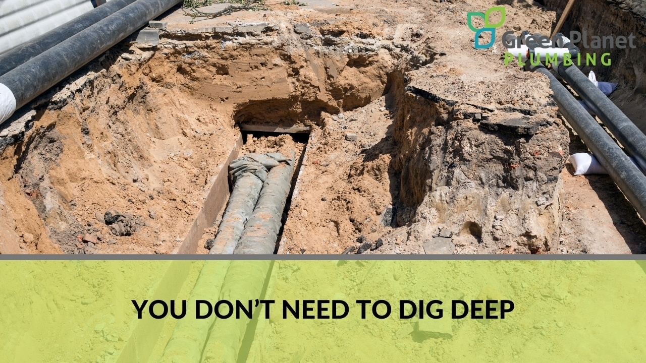 You don't need to dig deep