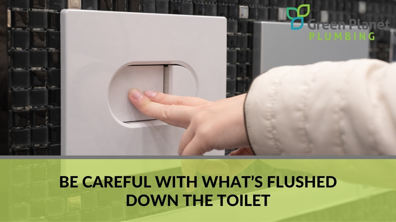 Be Careful with What's Flushed Down the Toilet