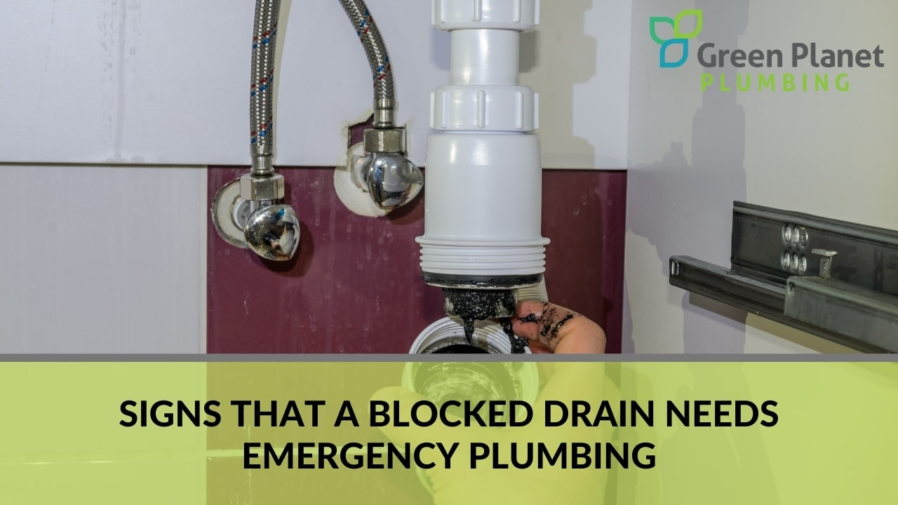 Signs That a Blocked Drain Needs Emergency Plumbing