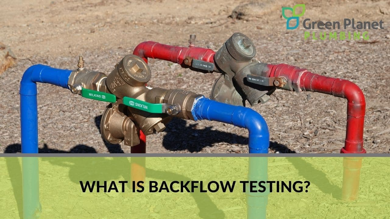 What is backflow testing?
